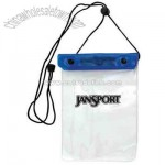 Waterproof pouch for valuables