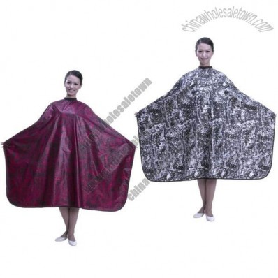 Waterrepellent  Polyester Salon Cape