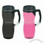 Wave Clip Handle Carabiner Travel Mug