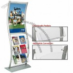 Wave Stand, Catalog Display w/ Poster Area