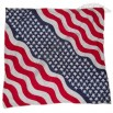 Wavy Design USA Flag Bandana