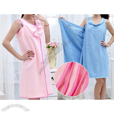 Wearable Fast Drying Towel Dress