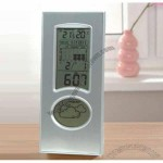Weather Station LCD Alarm Clockwise