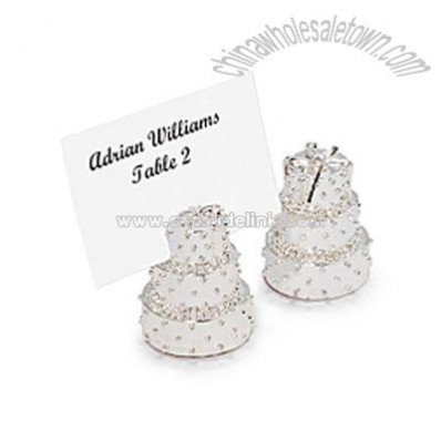 Wedding Cake Place Card Holders