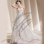 Wedding Dress/Bridal Gown with Hand EMB