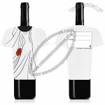 Wedding Dress Wine Bottle Gift Card