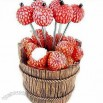 Wedding Gift Litchi Design Fruit Fork
