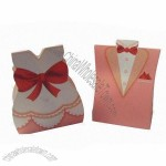 Wedding Paper Gift Box, Made Of Cardboard, Candy Box