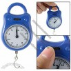 Weight Up 5Kg Hanging Plastic White Dial Scale Blue