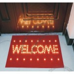 Welcome LED Light Up Door Mat
