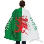 Welsh Flag Body Cape