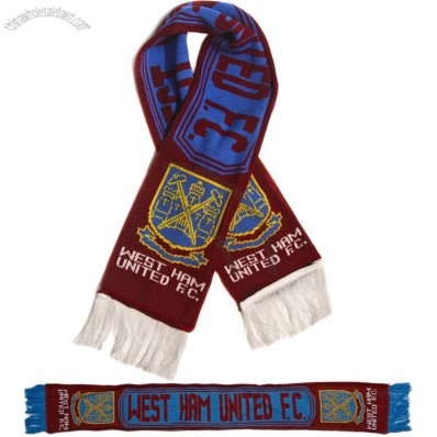 West Ham United Football Club Fans Scarf