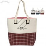 Westport Linen Tote Bag