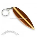Wet Products Surfboard Keychain Wood