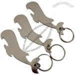 Whale Bottle Opener with Key Ring