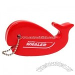 Whaler Floating Foam Whale Key Chain