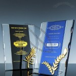 Wheat splicing crystal Award