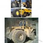 Wheel Loader Tire Protection Chains, OTR Tyre Protection Chain