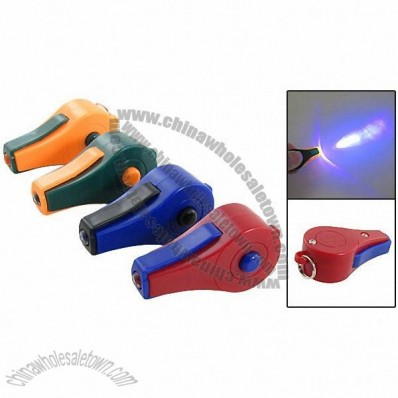 Whistle Shaped Ultraviolet Paper Money Detectors
