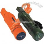 Whistle survival tube