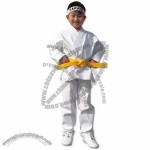 White Light Weight Karate Uniform Size 0000 to 8