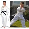 White Light Weight Tae Kwon Do Uniform Size 0000 to 8