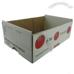 White Vegetable and Fruit Cardboard Box