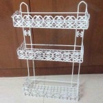 White Washroom Rack