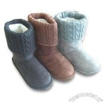 Wholesale Women's Boots with Imitation Fur Lining