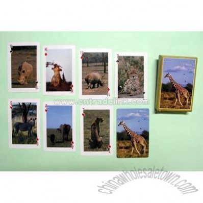 Wildlife Playing Card