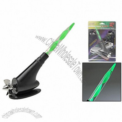 Wind Powered LED Light Antenna for Auto Car