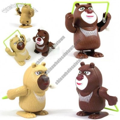 Windup Skipping Bear