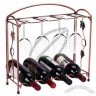 Wine Bottle & Glass Rack