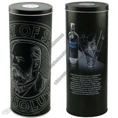 Wine Bottle Package Tin Box