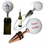 Wine Cork - Golf Ball Bottle Stopper