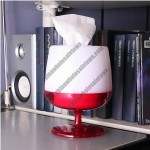 Wine Goblets Tissues Holder Box
