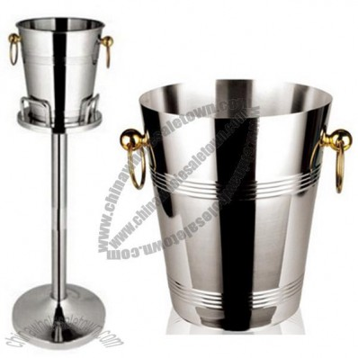 Wine Ice Bucket / Champagne Bucket Stand