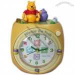 WinniethePooh Clock Melody Alarm Sound and Rotating Character