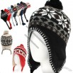 Winter Beanie Skull Snowboard Ski Knit Ear Flap Hat