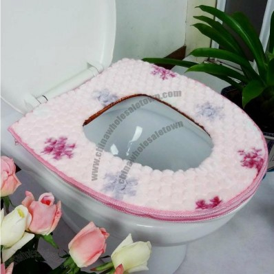 Winter Plush Toilet Seat Mat