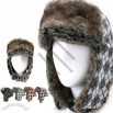 Winter Trooper Bomber Faux Fur Hat Hunter Cap