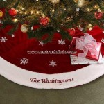 Winter Wonderland Personalized Tree Skirt