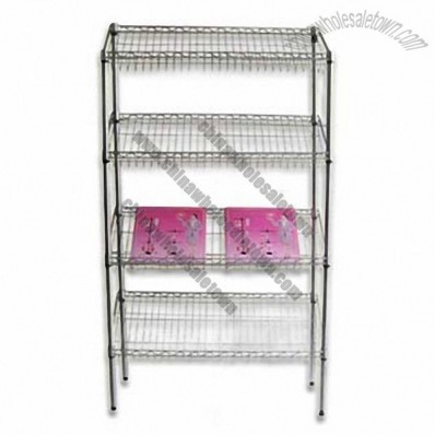 Wire Goods Shelves 120x45x160cm