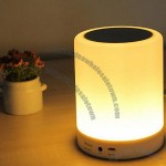 Wireless Audio Lamp Bluetooth Speaker with White LED Lamp Light
