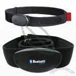 Wireless Heart Rate Monitor, Compatible with Bluetooth for iPhone 4S/iPhone 5/New iPad