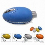 Wireless Optical RF Mouse with Pop-out USB Receiver