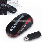 Wireless RF Mouse with Laser Point and Page Up and Down Function