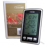 Wireless Rain gauge meter with temperature & Radio cotrolled clock