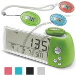 Wireless Transmission Pedometer Clock