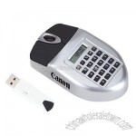 Wireless USB Mouse with Calculator Combo